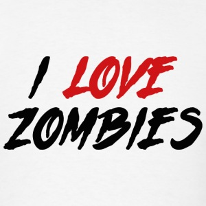 I Love Killing Zombies - Men's T-Shirt