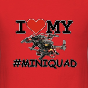 I Love My Mini Quad - Men's T-Shirt