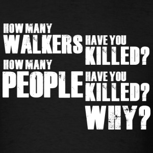 TWD - 3 Questions - Men's T-Shirt