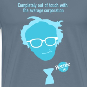 Bern the Corporations! - Men's Premium T-Shirt