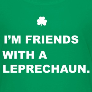 Friends With a Leprechaun Kids' Shirts - Kids' Premium T-Shirt