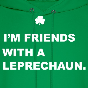 Friends With a Leprechaun Hoodies - Men's Hoodie