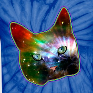 cat shirt rainbow space cat T-Shirts - Unisex Tie Dye T-Shirt