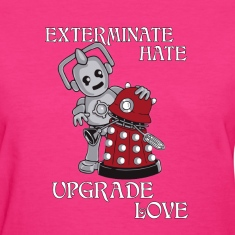 Exterminate Hate.png Women's T-Shirts