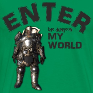 The Dungeon! #spreadgaming - Men's Premium T-Shirt