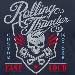 Rolling Thunder Motors - Men's T-Shirt by American Apparel