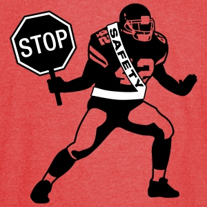 Football Safety - Vintage Sport T-Shirt