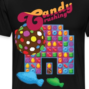Candy Crushing #spreadgaming - Men's Premium T-Shirt