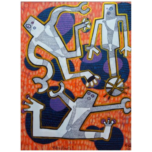 Retro Robots 48'x36' Acrylic on Canvas 2015.jpg