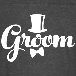 Groom - Weddings/Bachelor T-Shirts - Vintage Sport T-Shirt