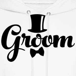 Groom - Weddings/Bachelor Hoodies - Men's Hoodie