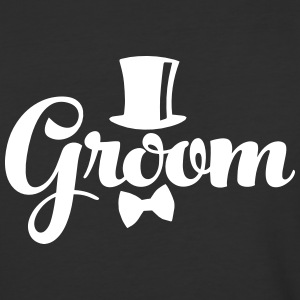 Groom - Weddings/Bachelor T-Shirts - Baseball T-Shirt