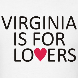Virginia is for lovers - Men's T-Shirt