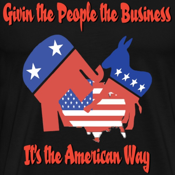 givin the  business T-Shirts - Men's Premium T-Shirt
