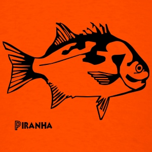 Piranha - Men's T-Shirt