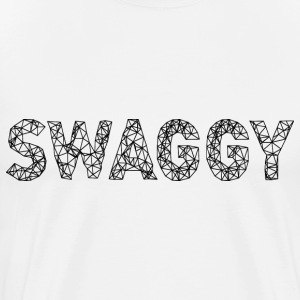 Swaggy Black T-Shirts - Men's Premium T-Shirt