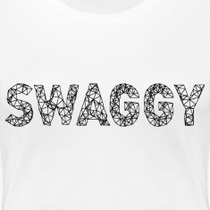 Swaggy Black Women's T-Shirts