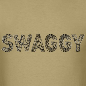 Swaggy Black T-Shirts - Men's T-Shirt