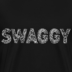 Swaggy White T-Shirts - Men's Premium T-Shirt