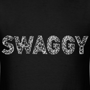Swaggy White T-Shirts - Men's T-Shirt