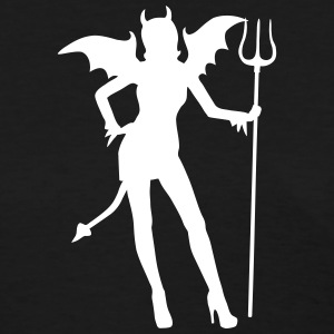 She's a Devil Women's T-Shirts - Women's T-Shirt