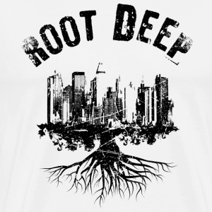 Root deep urban black T-Shirts - Men's Premium T-Shirt