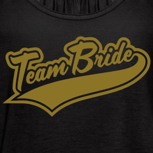 Team Bride & Team Bridesmaid Tanks - Women's Flowy Tank Top by Bella