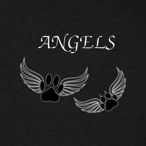 Angel Pet Paws - Men's T-Shirt