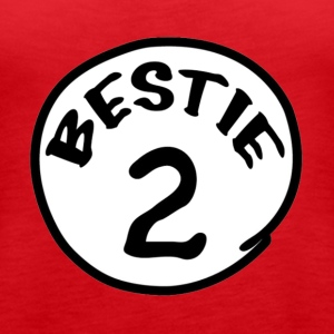 Thing 1,Dr sues,Bestie - Women's Premium Tank Top