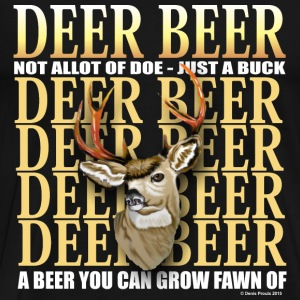 Deer Beer - Men's Premium T-Shirt