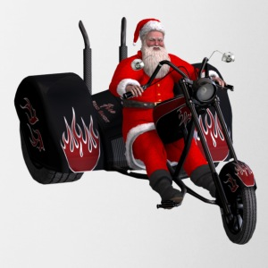 Santa and his custom trike - Coffee/Tea Mug