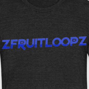 zFruitLoopz Original - Black - Mens - Unisex Tri-Blend T-Shirt by American Apparel