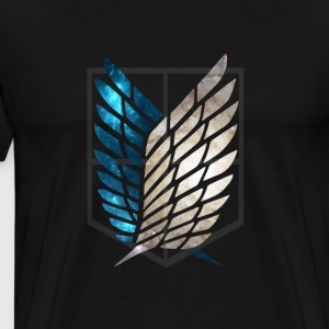 Survey Corps Galaxy T-Shirts - Men's Premium T-Shirt