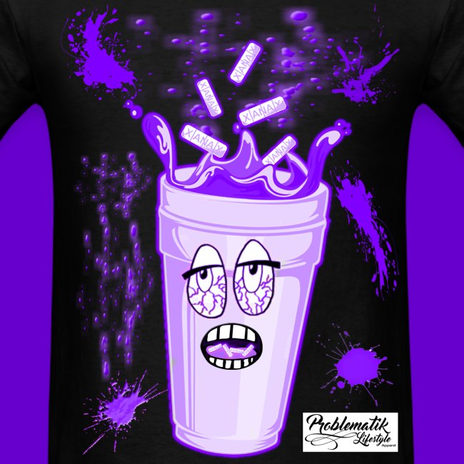 Stoned Lean Cup T-shirt - Mens T-Shirt