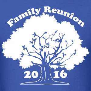 Family Reunion Oak Tree 2016 T-Shirts - Men's T-Shirt