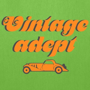 Vintage cars adept Bags & backpacks - Tote Bag