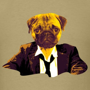 pug at work T-Shirts - Men's T-Shirt