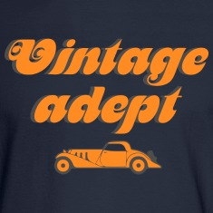 Vintage cars adept Long Sleeve Shirts