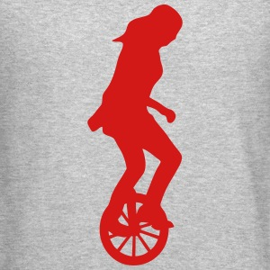 unicycle circus 23 Long Sleeve Shirts - Crewneck Sweatshirt