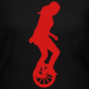 unicycle circus 23 Long Sleeve Shirts - Women's Long Sleeve Jersey T-Shirt