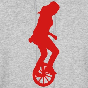 unicycle circus 23 Hoodies - Men's Hoodie