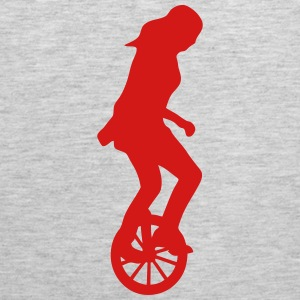 unicycle circus 23 Sportswear - Men's Premium Tank
