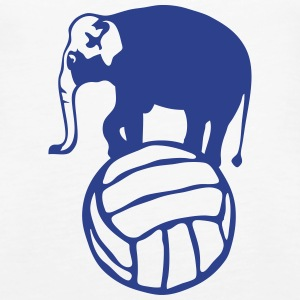 elephant balloon volleyball water polo Tanks - Women's Premium Tank Top