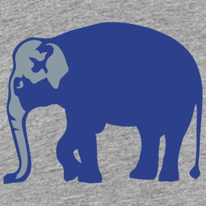 wild animal elephant trunk 8 Kids' Shirts - Kids' Premium T-Shirt
