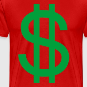 white_dollar_sign - Men's Premium T-Shirt
