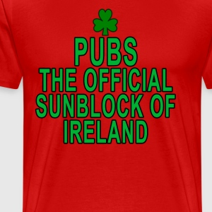 pubs_the_official_sunblock_of_ireland - Men's Premium T-Shirt