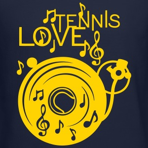 love tennis turntable turns 33 music not Long Sleeve Shirts - Crewneck Sweatshirt