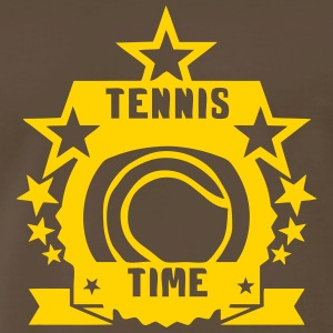 tennis time sports logo 404 T-Shirts - Men's Premium T-Shirt