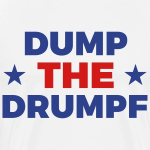 Dump The Drumpf - Men's Premium T-Shirt