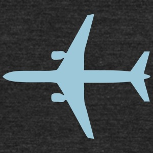 airliner flight 4 T-Shirts - Unisex Tri-Blend T-Shirt by American Apparel
